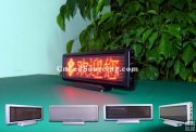 Table Type(Desktop) P3 Red Color Indoor LED Signs with Best Price