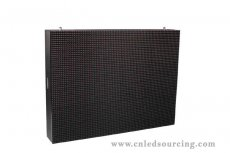 P16mm Outdoor LED Display with DIP 1R1G1B 3,906 Pixels/sqm for Fixed Installation