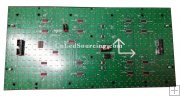 Single Amber Color Semi Outdoor LED Sign Unit Board Module (P10mm)