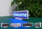 Indoor LED Signs China(Desktop P3mm Blue Color)
