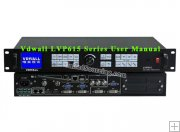 Vdwall LVP615 LED Video Processor User Manual