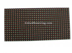 P10 Outdoor Dual Color LED Module, DIP 1 Red 1 Green LED Display Unit Board