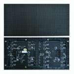 Indoor P4mm 64 x 32 Pixels Full Color SMD2121 Black LED Unit Module