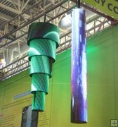 P10 SMD Indoor Flexible LED Display, Soft LED Screen
