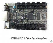 Zdec V82RV08 (S82S1018) Full Color Led Receiving Card