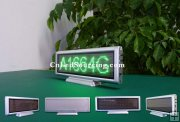 P3 Desktop Green Color Small Programmable LED Signs Indoor