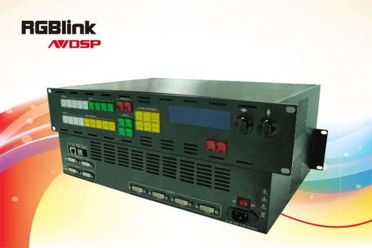 RGBLink VSP 3500 LED Mapping Video Processor - Click Image to Close