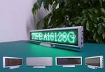 Indoor Desktop Message LED Signs Supplier(P3 Green Color 16x128 pixels Board)