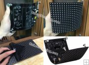 P8 Indoor SMD Curved LED Screen Module 256 x 128mm