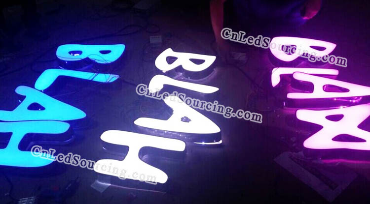 Dimmable LED Letter Sign - Click Image to Close